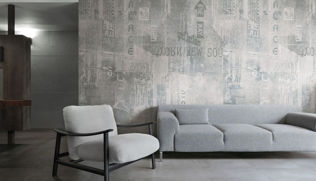 decor fresque murale style industriel graffiti urban porto venere. Black Bedroom Furniture Sets. Home Design Ideas