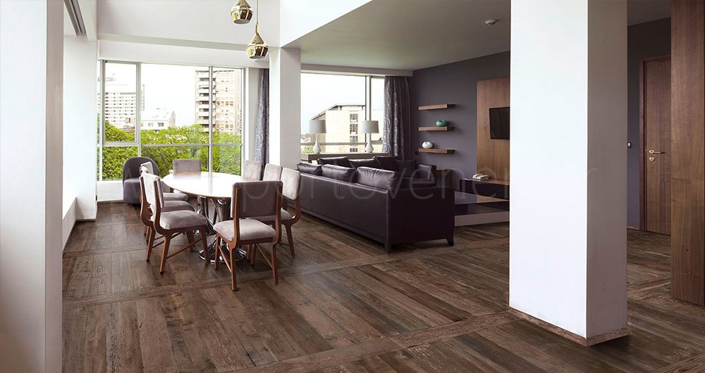 Le carrelage imitation parquet aspect bois en gr s c rame for Carrelage grand format pas cher