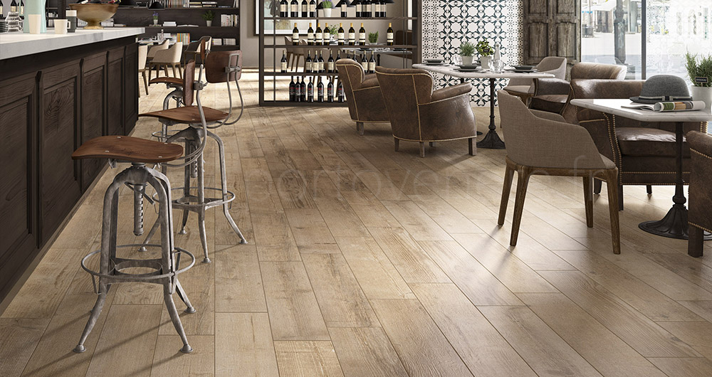 Carrelage imitation parquet Barrique