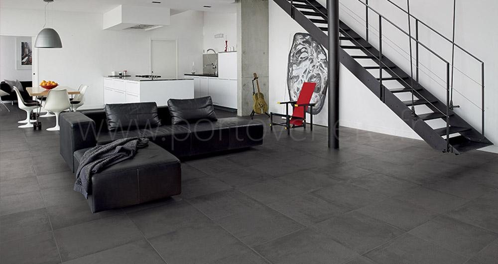 Les carrelages contemporains et design porto venere for Carrelage 90x90 gris