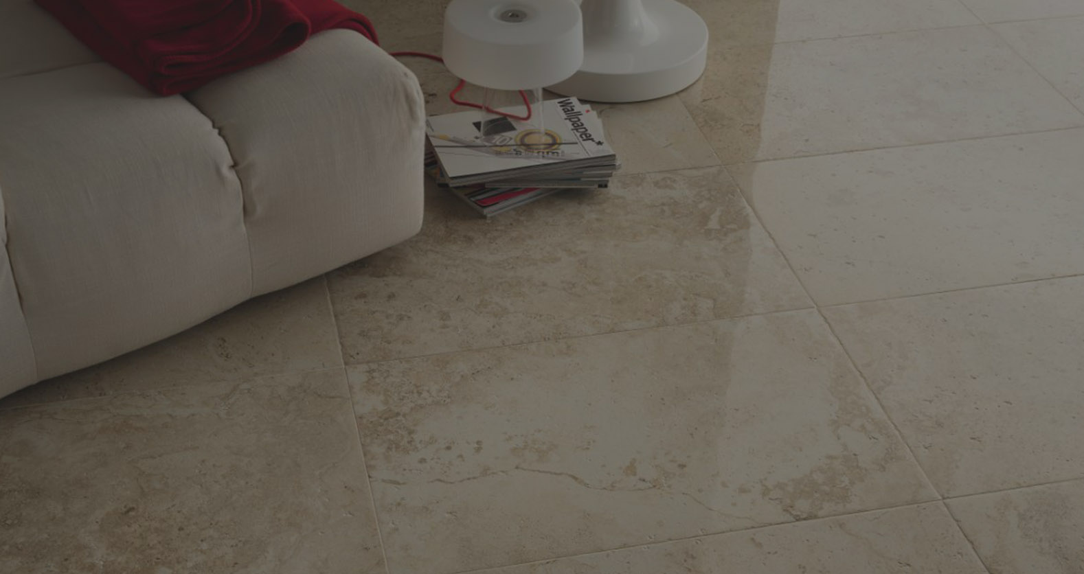 Carrelage aspect marbre travertin in stone porto venere for Carrelage style marbre