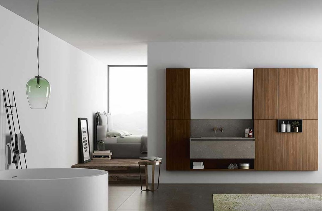 meuble de salle de bain design haut de gamme en c ramique. Black Bedroom Furniture Sets. Home Design Ideas