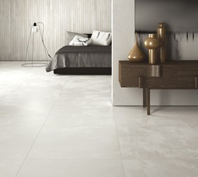 Carrelage contemporain beton cire porto venere for Carrelage 80x80 blanc