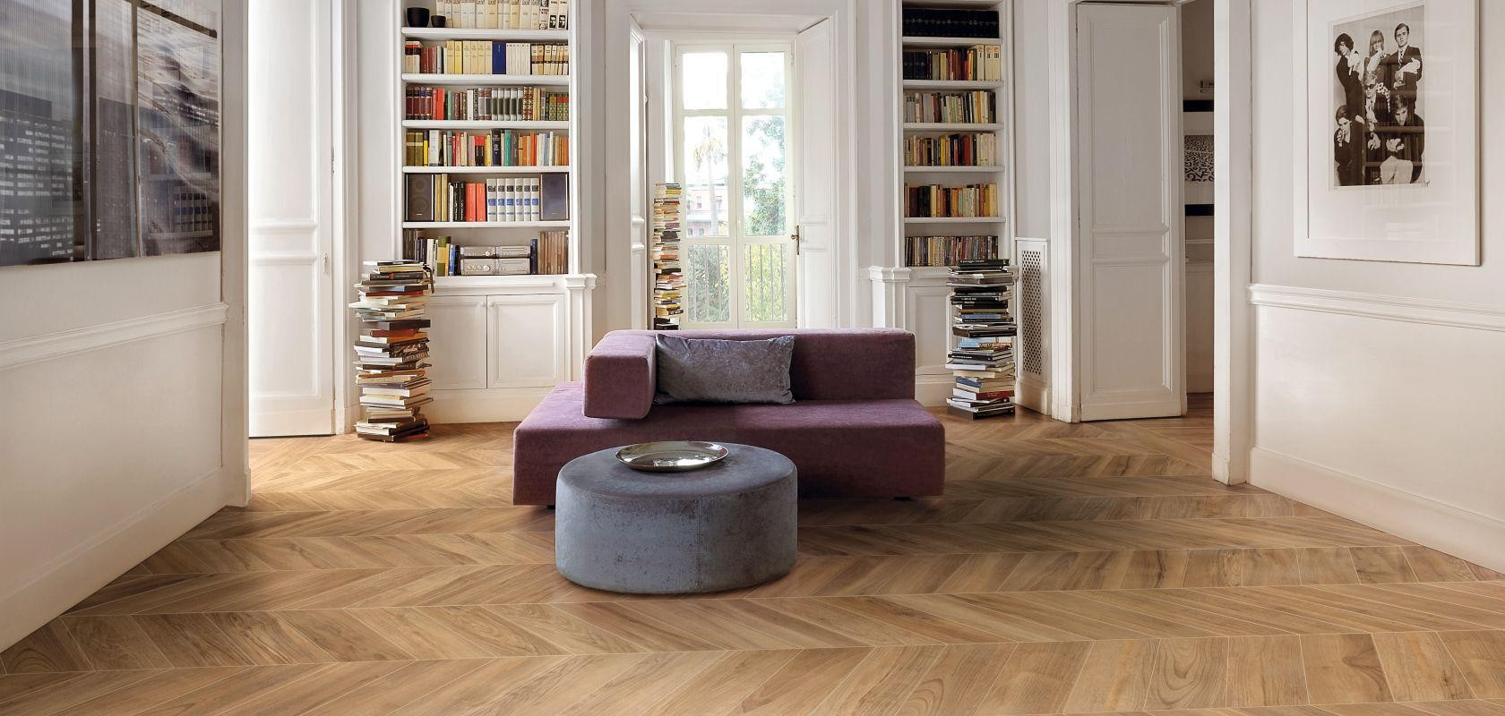 Carrelage imitation parquet neutre private room porto venere - Piastrelle in graniglia ...