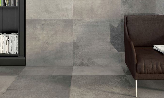 Carrelage aspect pierre wales gris nuanc porto venere for Carrelage aspect pierre
