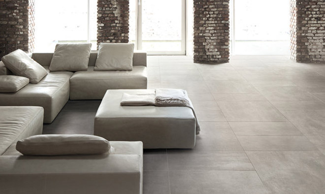 Carrelage contemporain inspiration gris porto venere for Carrelage 80x80 gris