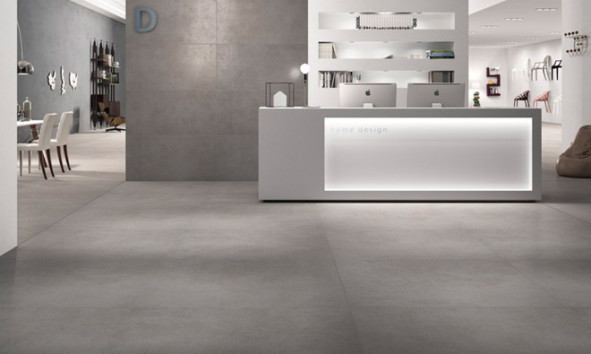 Carrelage stone project cemento porto venere for Carrelage 90x90 gris