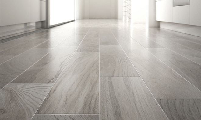 Carrelage fa on parquet - Carrelage imitation marbre blanc ...