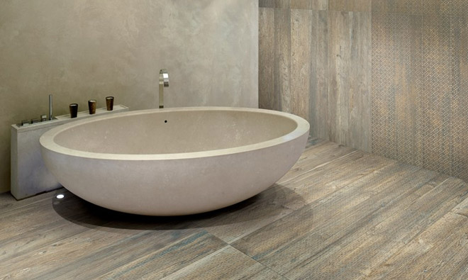 Beautiful Carrelage Salle De Bain Imitation Parquet Pictures ...