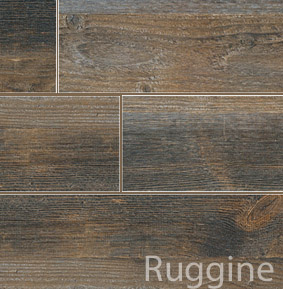 Carrelage imitation parquet planches nottingham ruggine for Carrelage rouille