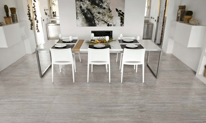 Carrelage imitation parquet selection oak grey porto venere for Carrelage imitation parquet gris