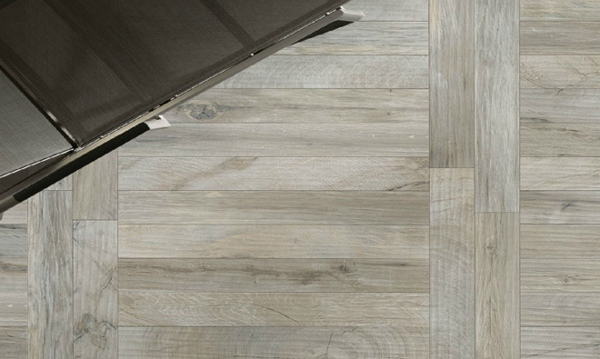 Carrelage imitation parquet bois ker wood grey - Stratifie imitation carrelage ...