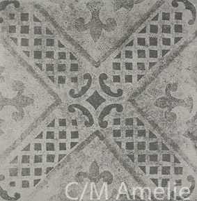 Carrelage aspect carreau ciment epoque clay mud porto venere - Carrelage aspect carreau ciment ...
