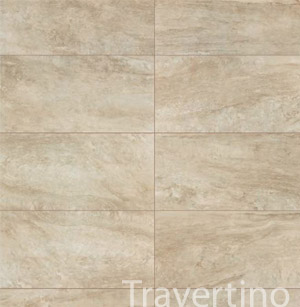 Carrelage aspect marbre marmo d travertino for Carrelage 35x35