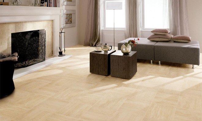 Carrelage aspect marbre selection travertino for Carrelage imitation marbre