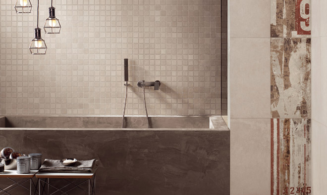 Bathroom design interior tile de bain room for Carrelage salle de bain contemporaine
