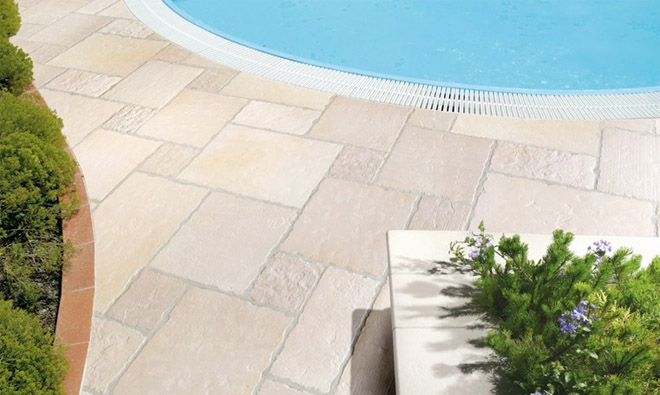 Carrelage terrasse durable calcare porto venere for Carrelage exterieur 40x40