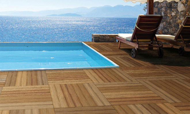 Carrelage terrasse outside teck porto venere for Carrelage piscine exterieure