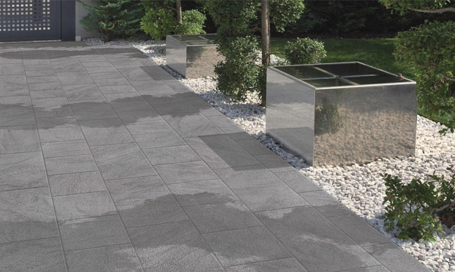 Carrelage terrasse stone grey porto venere for Photo terrasse carrelage gris