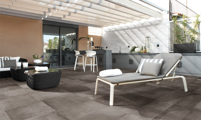 carrelage terrasse terranova grey porto venere. Black Bedroom Furniture Sets. Home Design Ideas