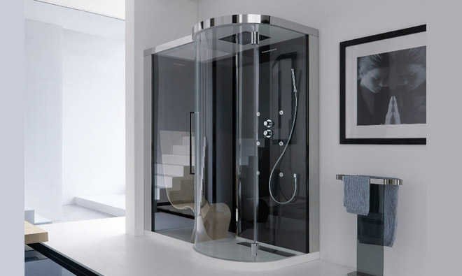 cabine de douche multifonctions samo kuma twin porto venere. Black Bedroom Furniture Sets. Home Design Ideas
