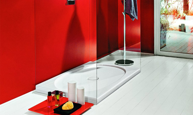 receveur de douche c ramique laufen il bagno alessi one porto venere. Black Bedroom Furniture Sets. Home Design Ideas
