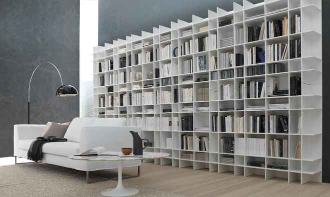 biblioth que murale contemporaine tx48 jornalagora. Black Bedroom Furniture Sets. Home Design Ideas