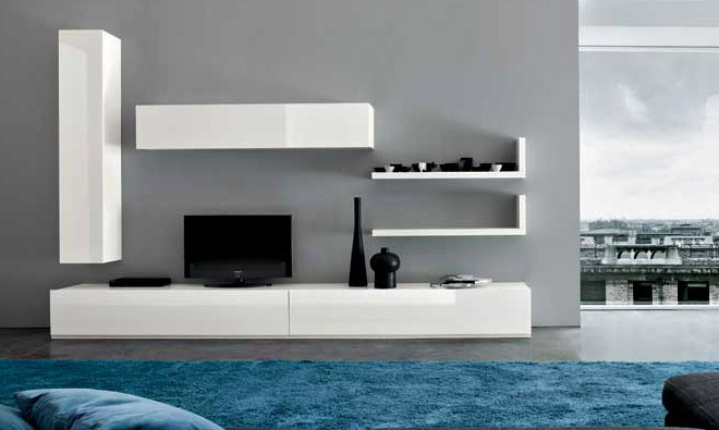 meuble suspendu pour tv mobilier sur enperdresonlapin. Black Bedroom Furniture Sets. Home Design Ideas