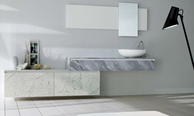 Awesome element salle de bain en marbre images design for Element de salle de bain