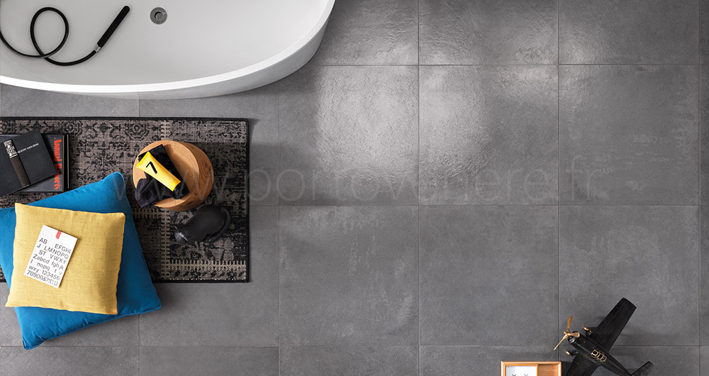 Salle de bain gris anthracite et beige interesting for Carrelage sol gris anthracite